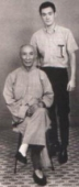 Bruce Lee and Yip Man