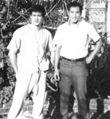 Bruce Lee and Ted Wong Jeet Kune Do
